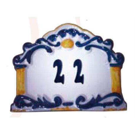 Number plaque
