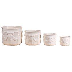 Four flowerpot set