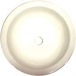 Smooth round sink