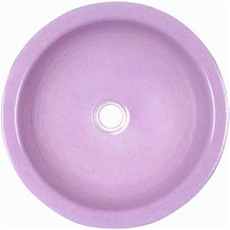 Special smooth round sink